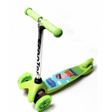 Самокат детский Mini Best Scooter. Peppa