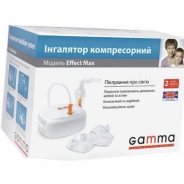 Ингалятор (небулайзер) Gamma Effect Max компрессорный.